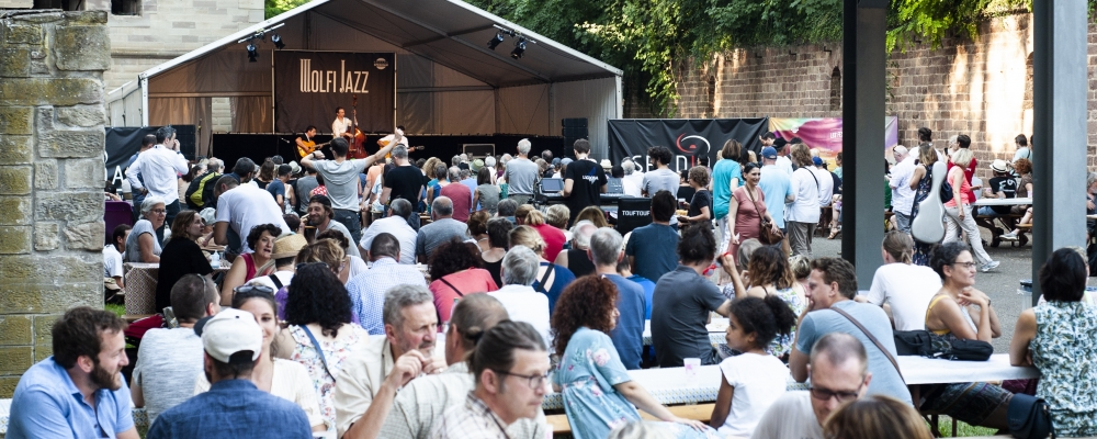 Wolfi Jazz eine Festung der Jazz-Musik